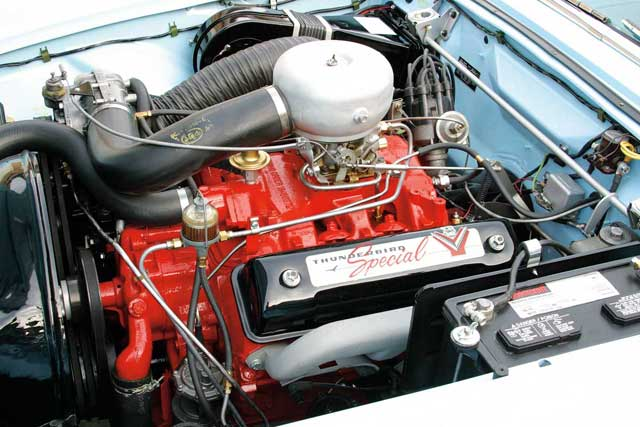 1957 Ford Thunderbird Engine