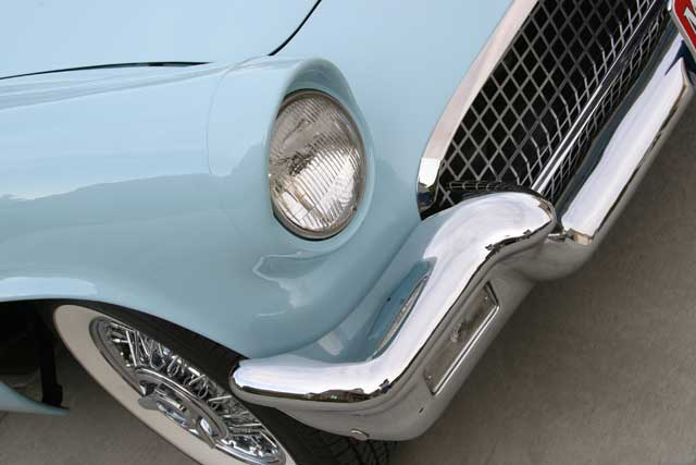 1957 Ford Thunderbird Headlight