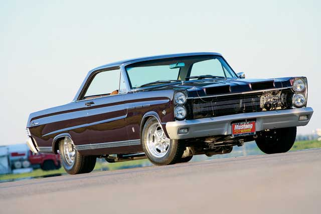 1965 Mercury Comet Caliente Front View