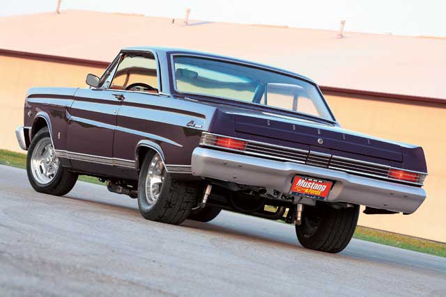 1965 Mercury Comet Caliente Rear View
