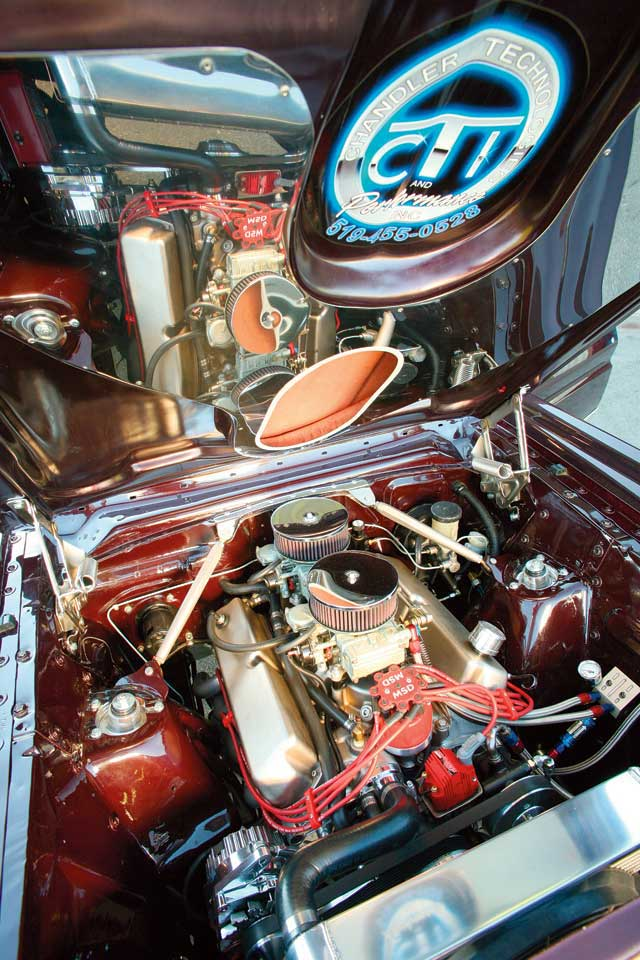 1965 Mercury Comet Caliente Engine
