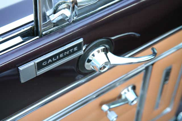 1965 Mercury Comet Caliente Door Handle