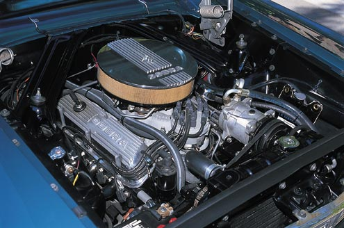 1965 Ford Falcon Sedan Engine Bay