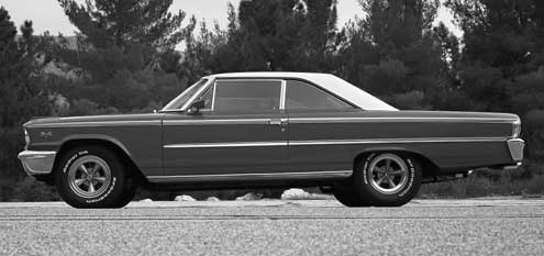 1963 Ford Galaxie Fastback Full Driver Side View