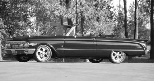 1963 Ford Comet Convertible Full Driver Side View