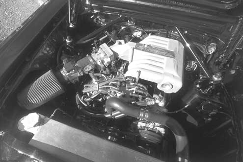 Ford Full Engine Bay View