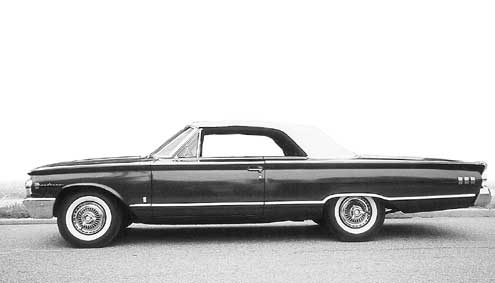 1963 Mercury Monterey Custom Full Driver Side View