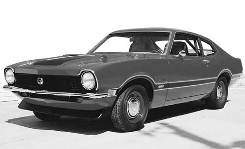 Ford Maverick Driver Side Front View