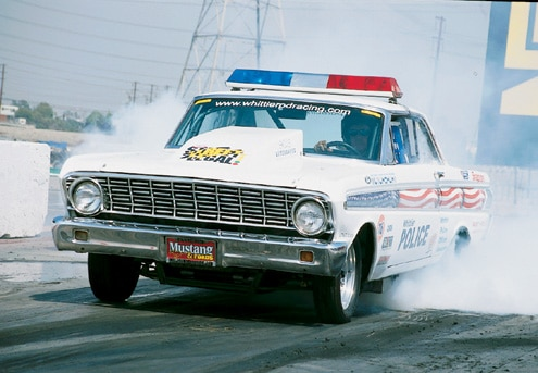 Ford Top Cop Falcon Front End Burnout