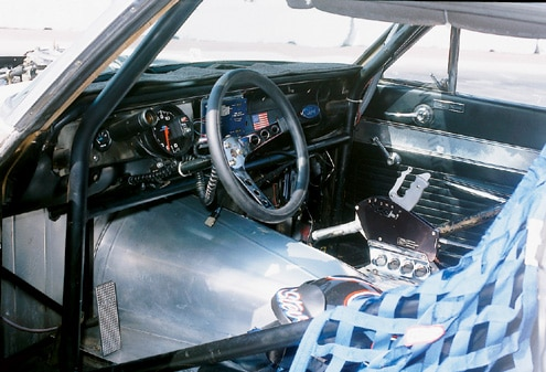 Ford Top Cop Falcon Driver Side Interior