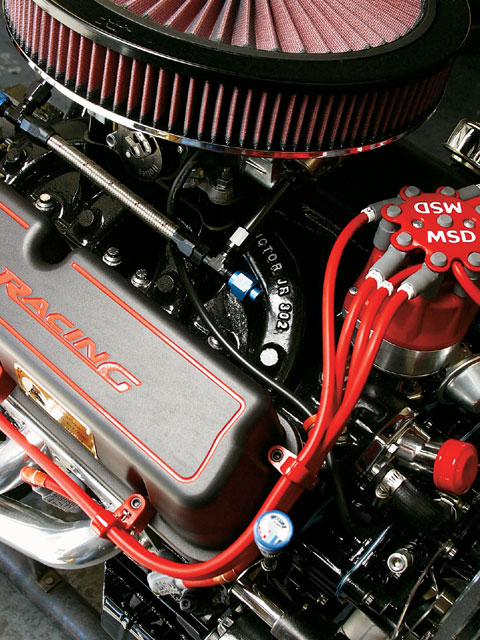 Mufp 0709 01 Z+summit Racing Ford Small Block Engine Build+