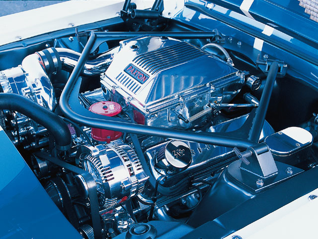 1968 Shelby GT350 Fastback Engine Bay