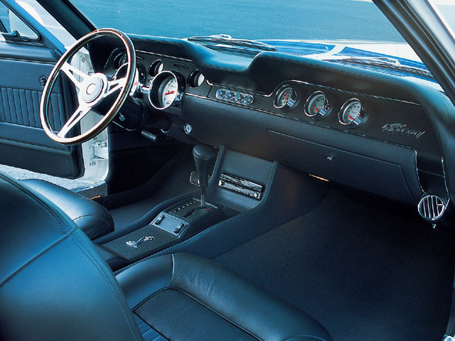 1968 Shelby GT350 Fastback Interior