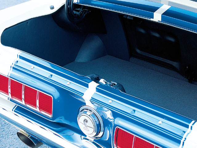 1968 Shelby GT350 Fastback Trunk