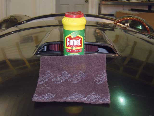 Factory Five Roadster Comet Cleanser Chemical Remover