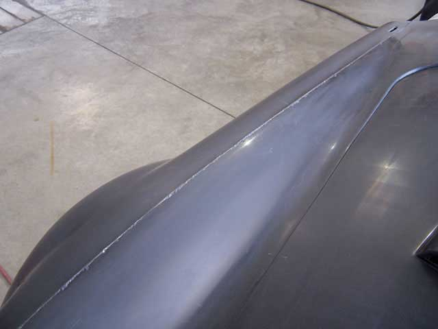Factory Five Roadster Fiberglass Pores Exposed