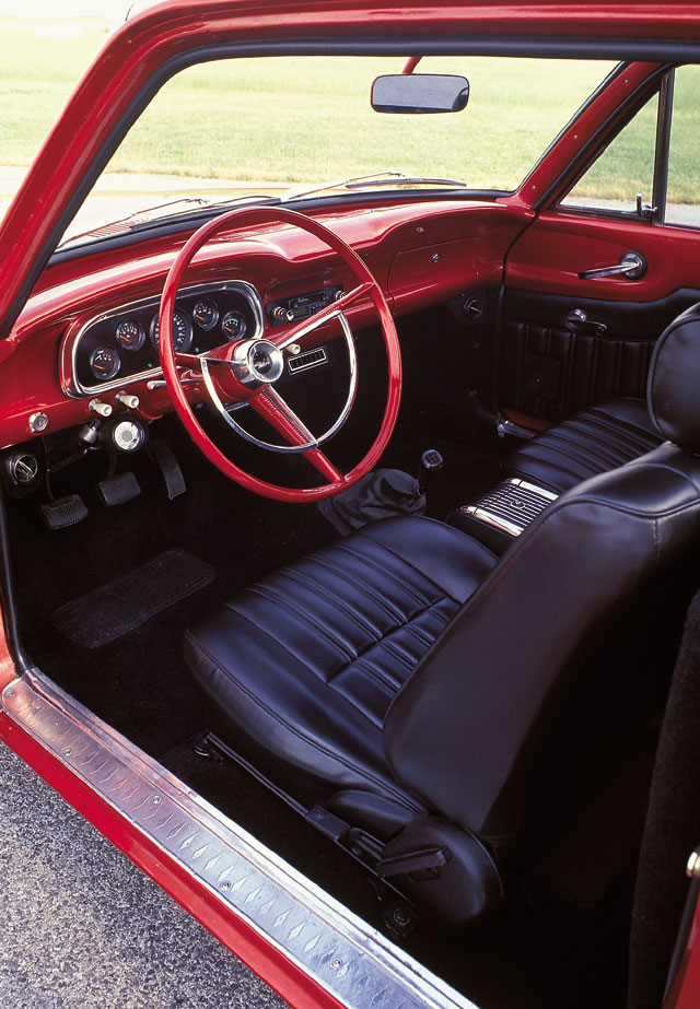 1962 Ford Ranchero Driver Side Interior