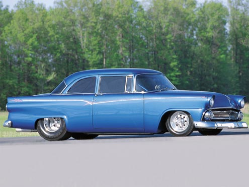 1955 Ford Customline Driver Side View