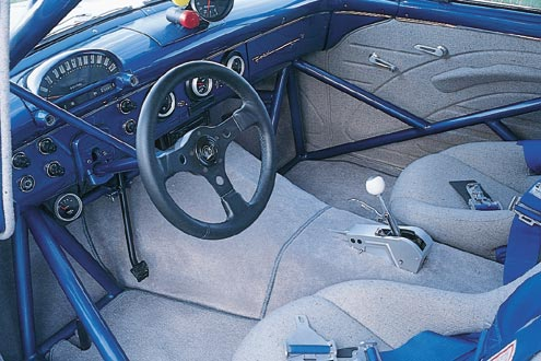 1955 Ford Customline Driver Side Interior