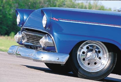 1955 Ford Customline Front End
