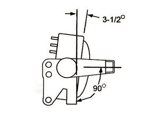 Classic Mustang Four Link Suspension Pinion Angle