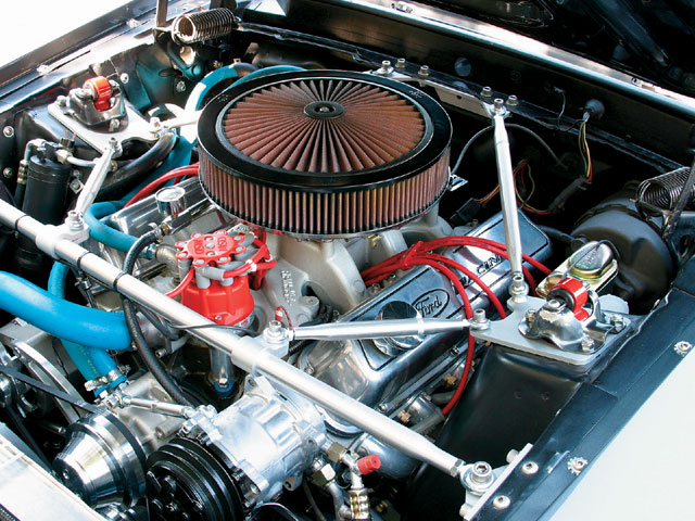 1969 Mustang Sportsroof Engine Bay