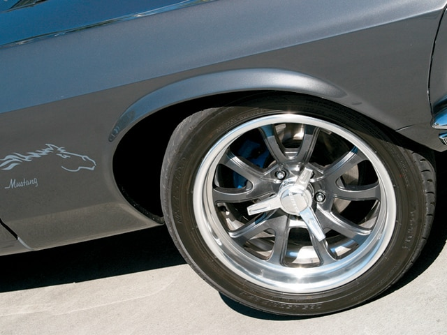 1969 Mustang Sportsroof Wheels