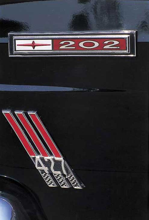 1967 Mercury Comet 427 Emblem Badge