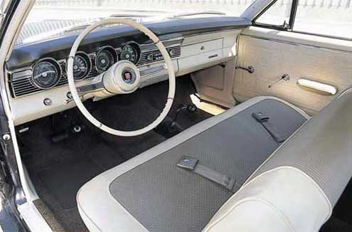 1967 Mercury Comet 427 Driver Side Interior