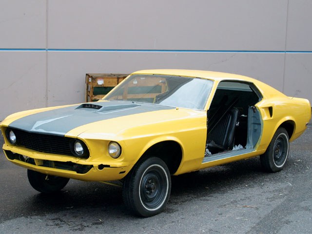 Turbocharged Six Cylinder Mustang 1969 Mustang Sportsroof
