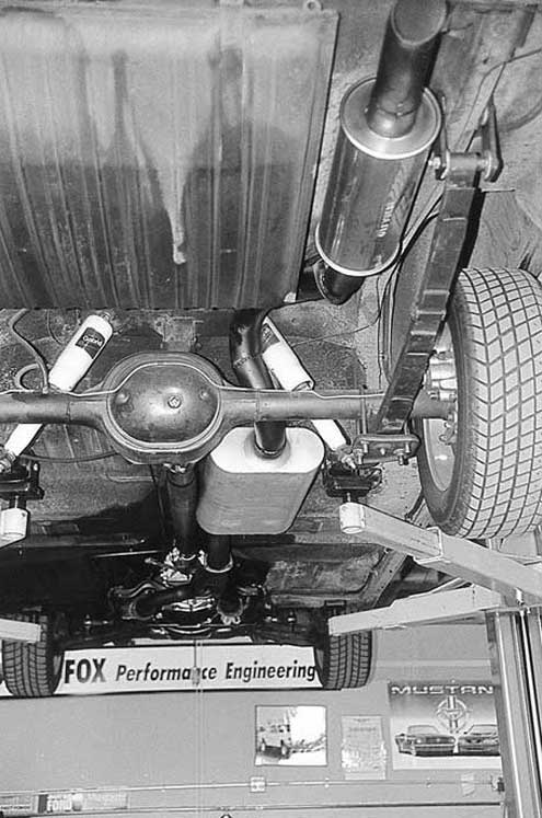 1963 Ford Fairlane Hardtop Rear Axel And Exhaust View