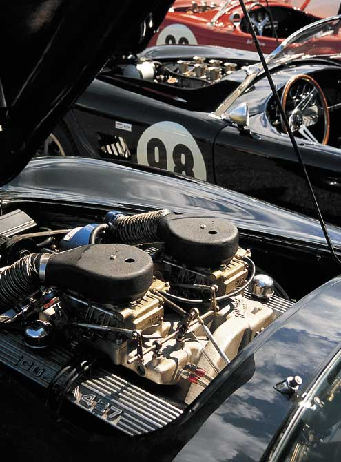 Shelby 427 Cobra Underhood Supercharged Engine