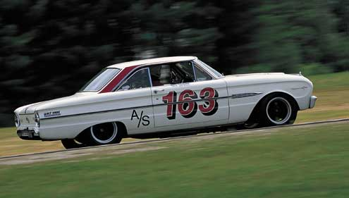 1963 Ford Falcon Sprint Side Driving Track