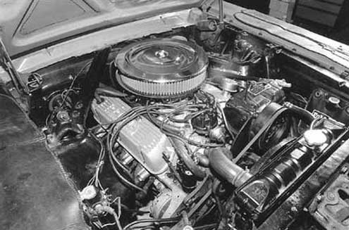1966 Ford Mustang Full Engine View