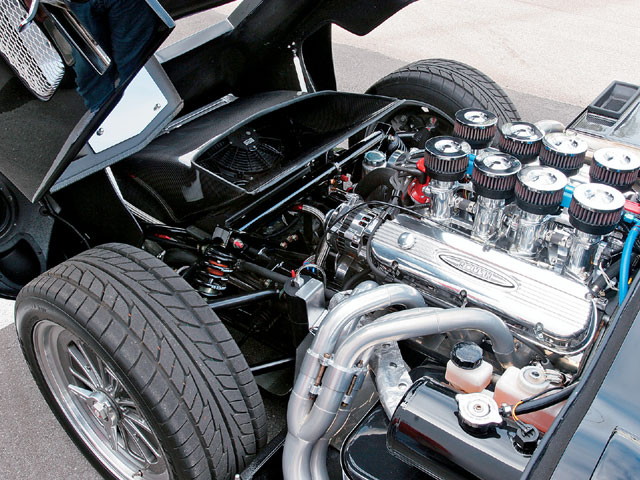 1964 Superformance SPF Coupe Engine Bay