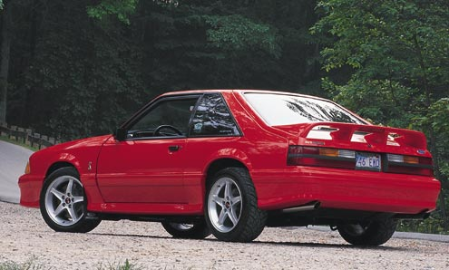 P89680_large 1993_Ford_Mustang_Cobra Rear_Driver_Side
