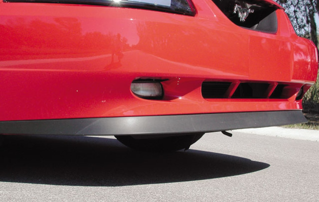 173_0306_14z 2003_Ford_Mustang_Mach_1 Chin_Spoiler