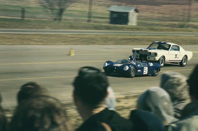1965 Shelby Gt350 Merlyn Barns Racing At Green Valley
