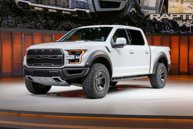 2017 Ford F 150 Raptor SuperCrew Front Three Quarter 02