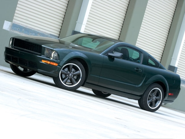 M5lp 0802 01 Z 2008 Ford Mustang Bullitt Driver Side View