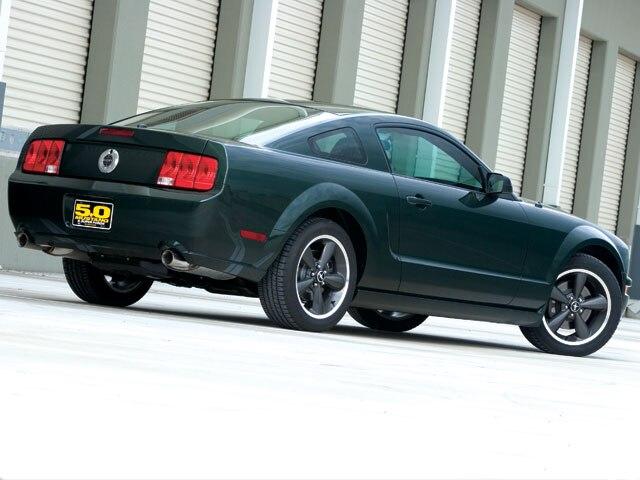 M5lp 0802 02 Z 2008 Ford Mustang Bullitt Rear View