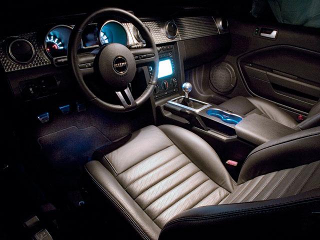 M5lp 0802 05 Z 2008 Ford Mustang Bullitt Interior