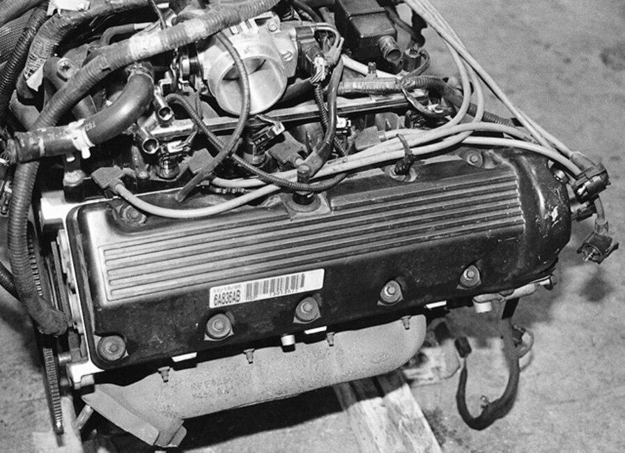 ford modular engine parts interchange