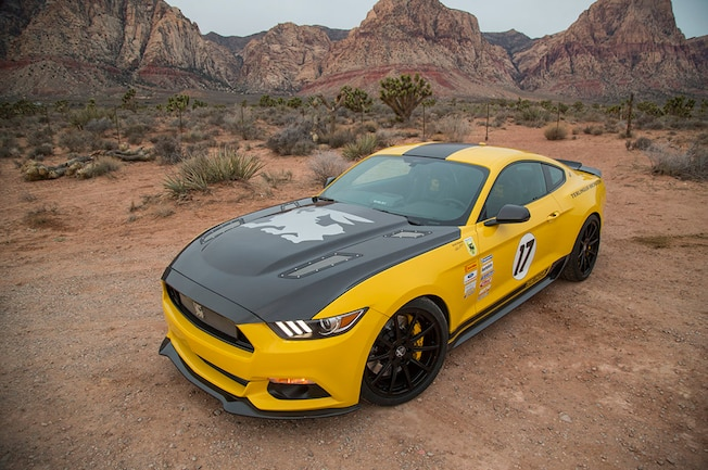 Shelby American Terlingua Ford Mustang 2015 2016 16