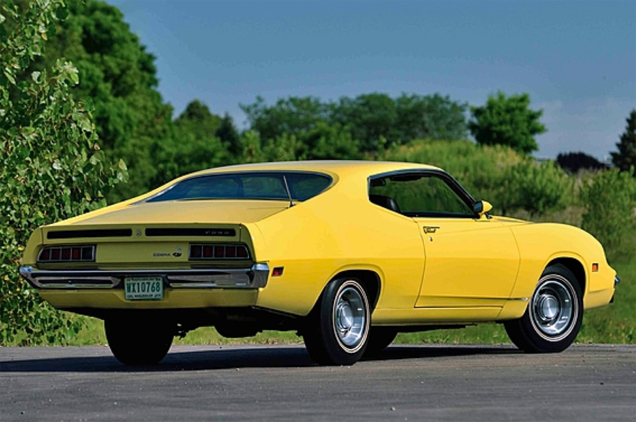 003 1970 Ford Torino King Cobra NASCAR Rear