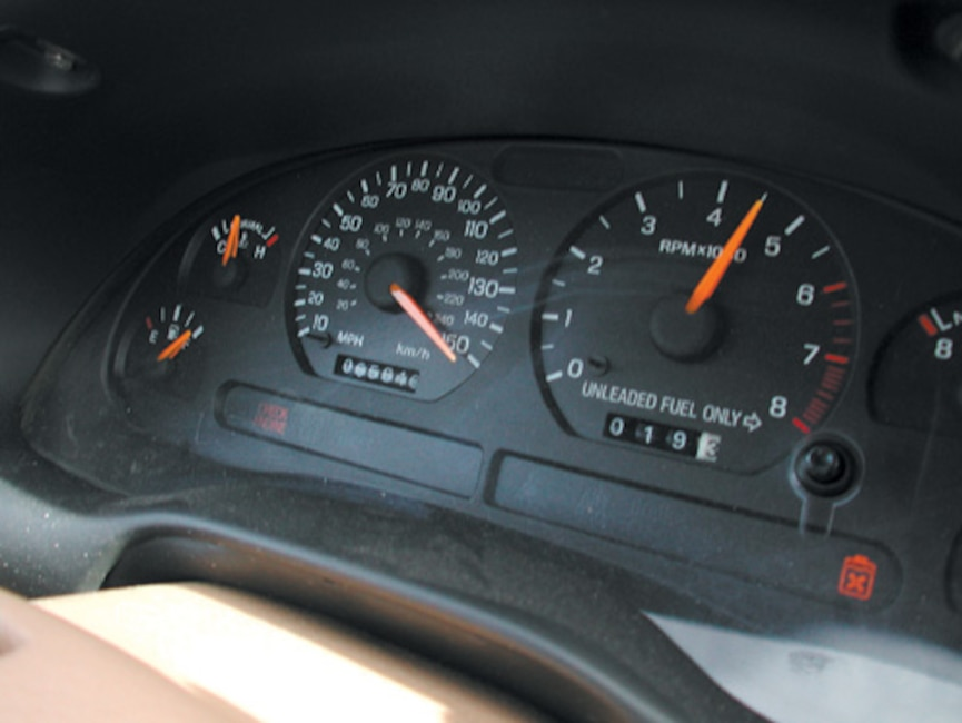 P175573_large 1996_Ford_Mustang_GT Dash_Gauges