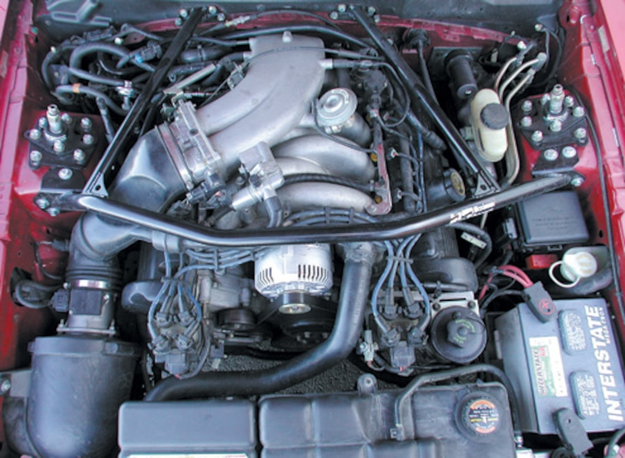 P175600_large 1996_Ford_Mustang_GT Engine_Bay