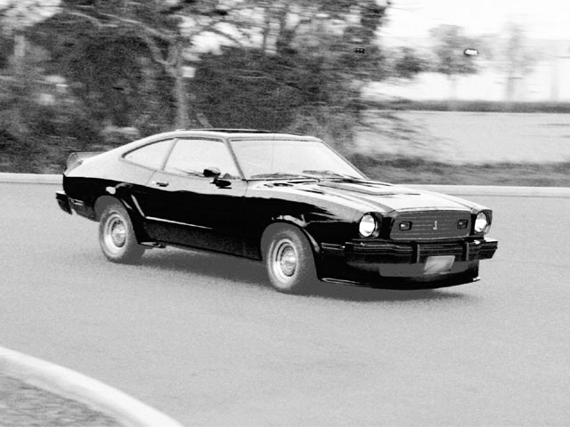 1978 Ford Mustang Cobra Driving