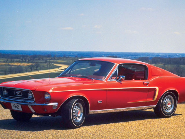 Mump 0404 12 Z+started First Mustang Ponycar Mustang+red ...