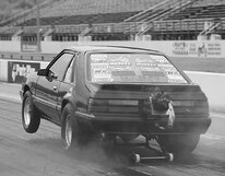 P76338_large Ford_Mustang_Foxbody Wheelie_Bar_View